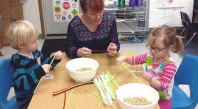 Hands-on learning in a Vermont Head Start program